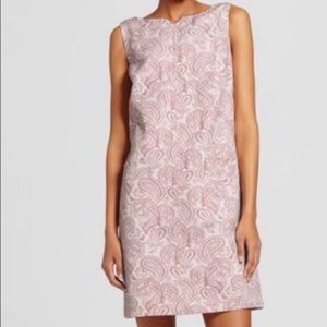 VictoriaBeckham x Target Blush Jaquard Shift Dress